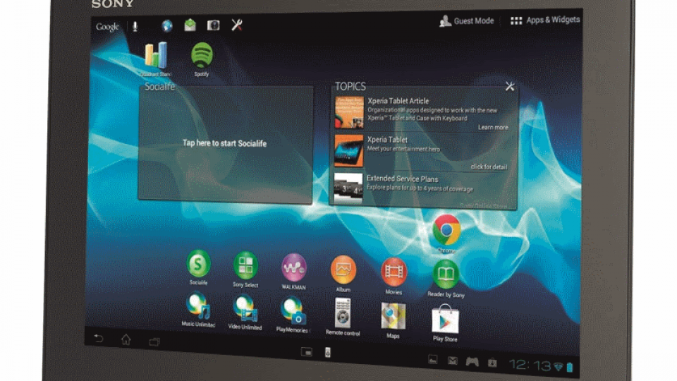 Sony Xperia Tablet S review | Expert Reviews