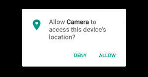 Android 6 app permissions